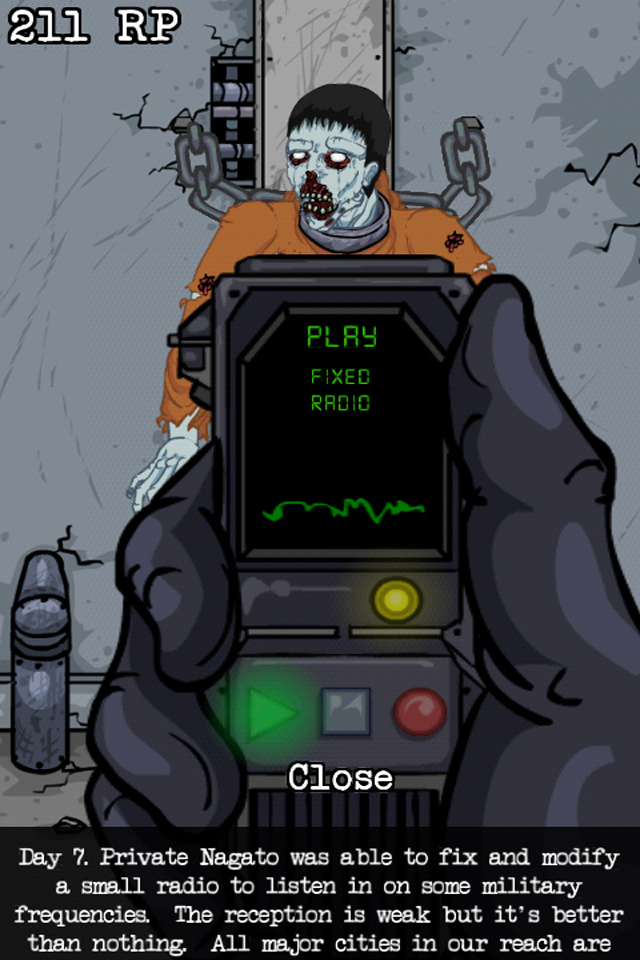 Screenshot Lab of the Dead (for iPhone and iPod)